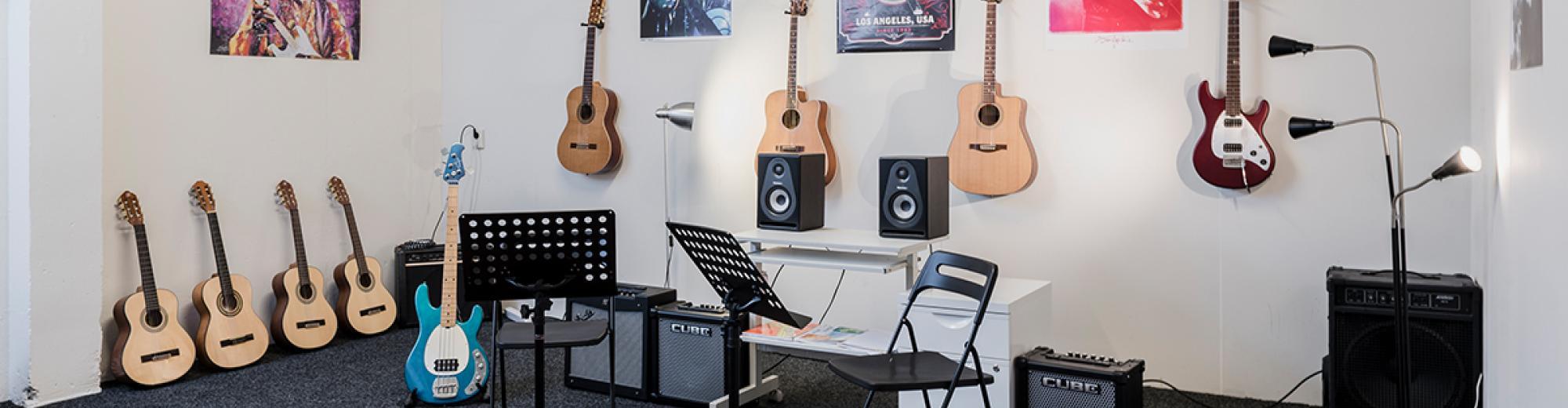 Alle lessen op muziekschool Badhoevedorp
